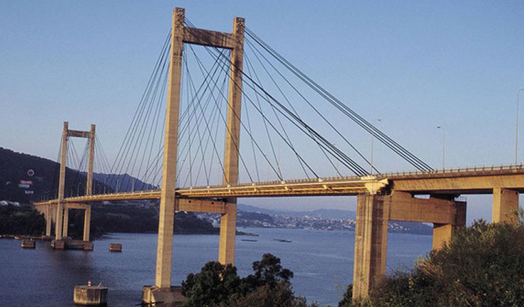 El puente de Rande, en Pontevedra, el segundo mejor del mundo.