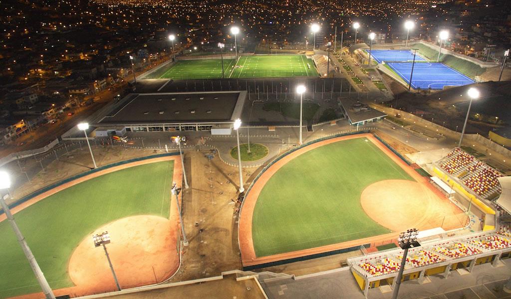 Estadios de los JJPP ya cuentan con Iluminación LED de última generación