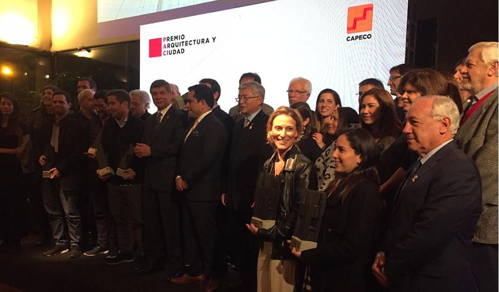 """Capeco presentó el premio """"Arquitectura y Ciudad"""""""