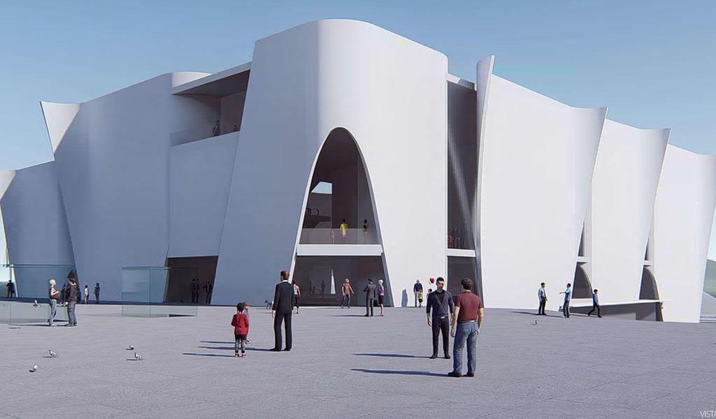 Así será el Museo HERMITAGE de TOYO ITO en BARCELONA