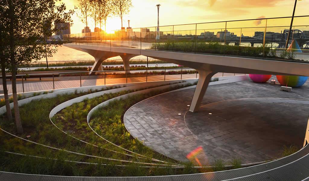 Se inaugura el nuevo parque lineal de Diller Scofidio + Renfro en Londres