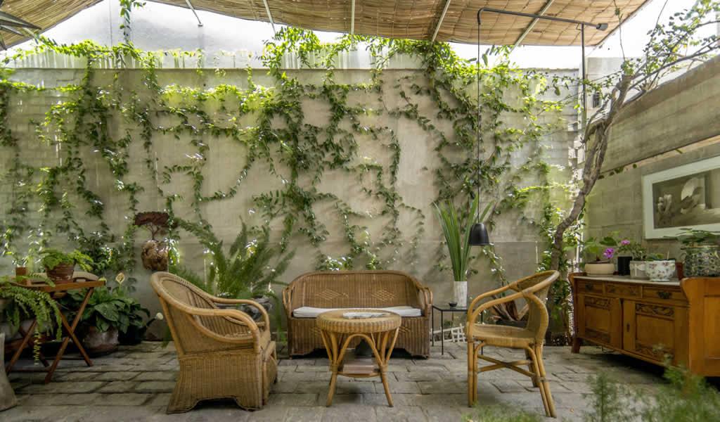 Entrada y terraza en Miraflores / Ghezzi Novak