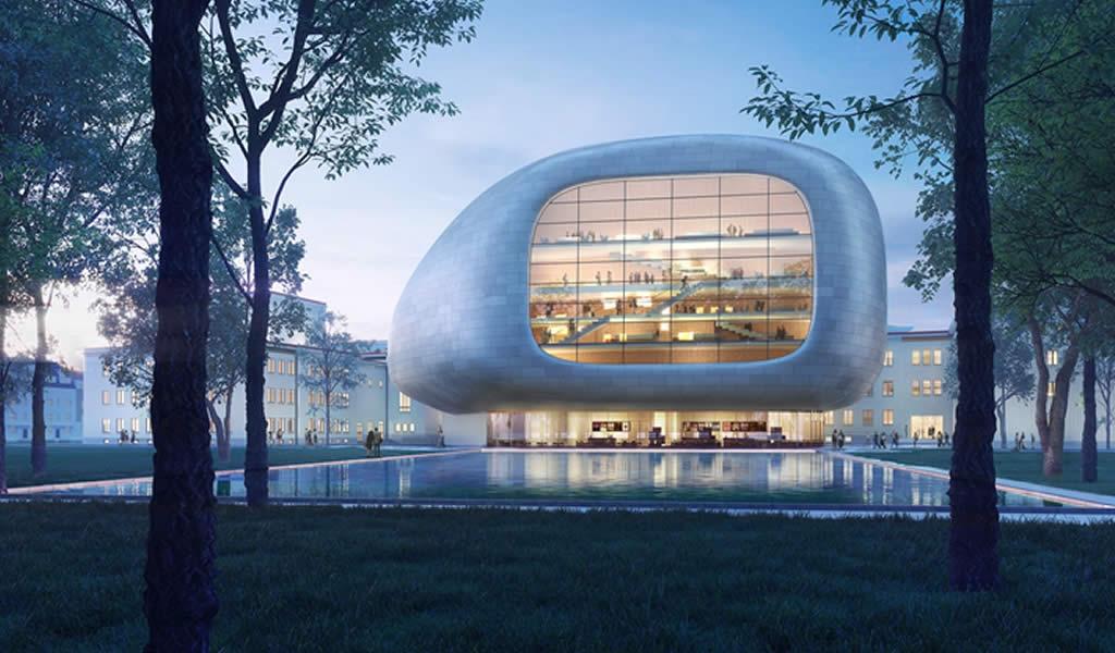 Steven Holl gana concurso para el diseño de una sala de conciertos en República Checa