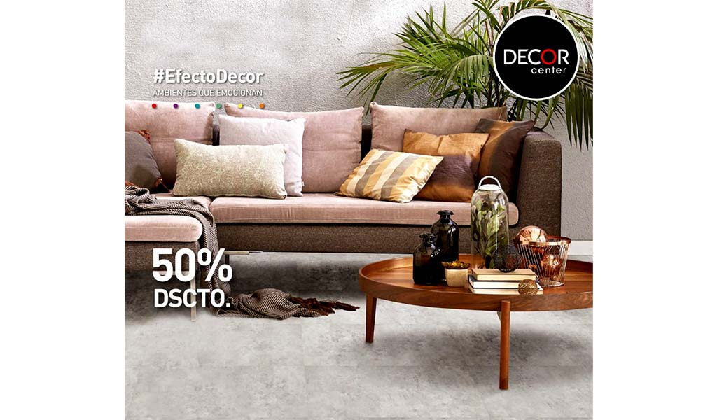 Decor center - Campaña Celebra 50% Dscto
