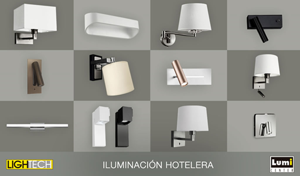 Iluminación Hotelera eficiente con LIGHTECH / LUMICENTER