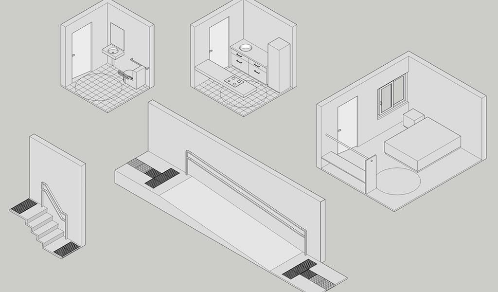 Recomendaciones básicas (y necesarias) para diseñar casas accesibles