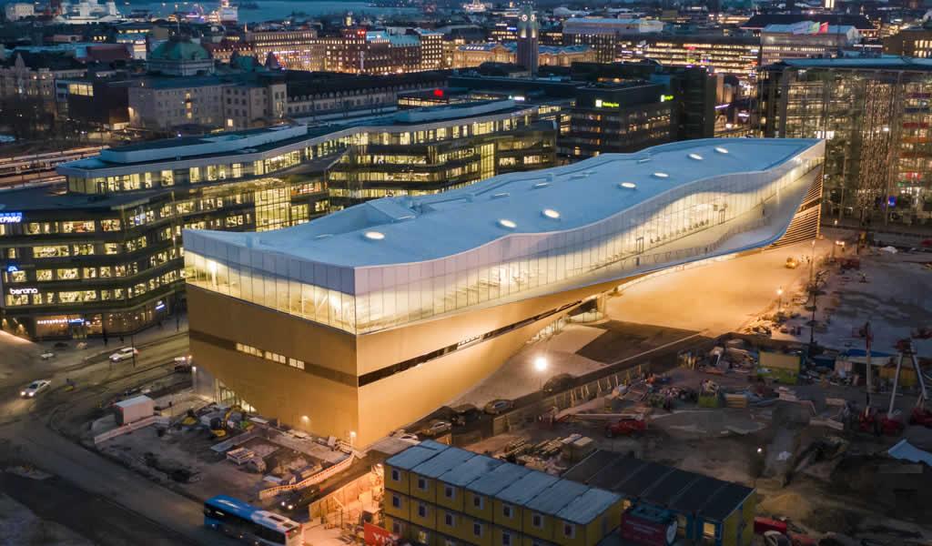 Oodi, Biblioteca central de Helsinki / ALA Architects