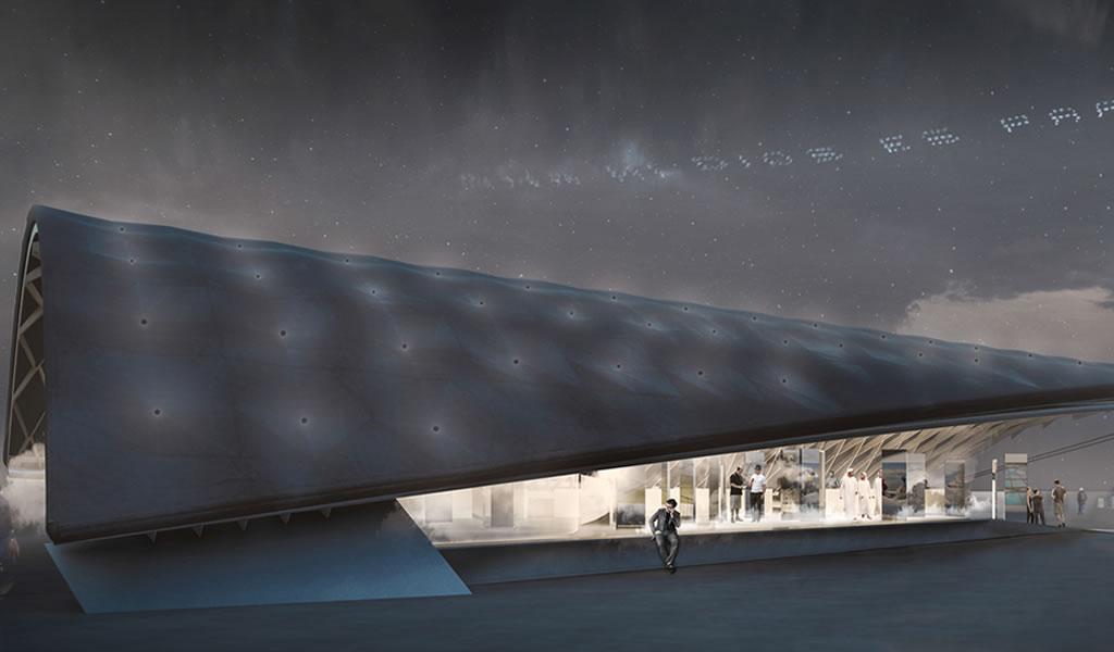 Smiljan Radic, Cecilia Puga y Paula Velasco diseñan el Pabellón de Chile para Expo Dubai 2020