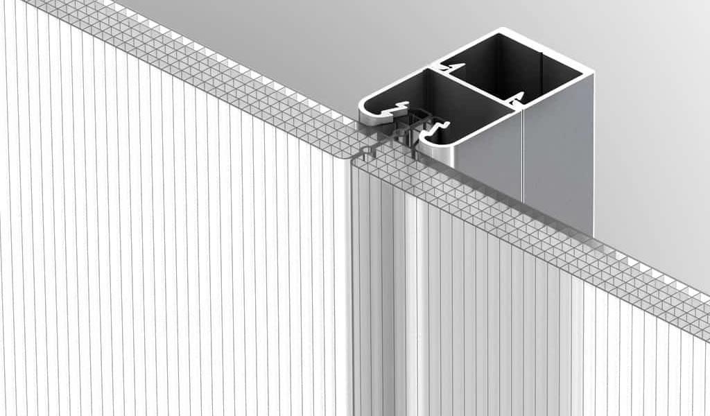 ¿Qué es exactamente una fachada translúcida de policarbonato?