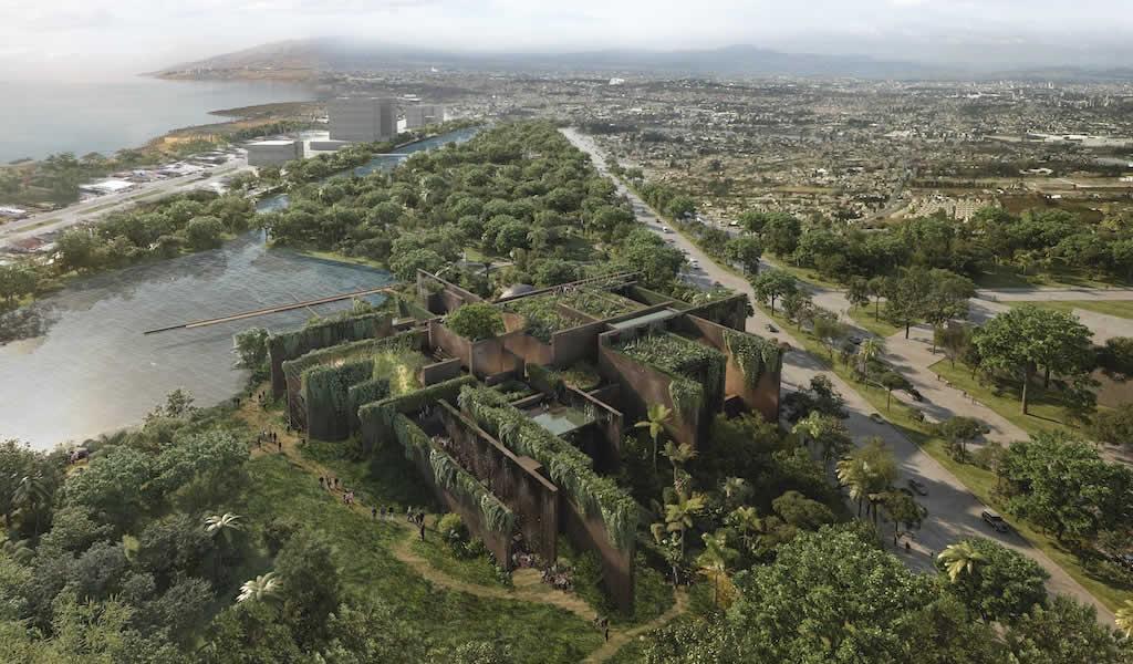 Acuario de Mazatlán en México a cargo de Tatiana Bilbao Estudio