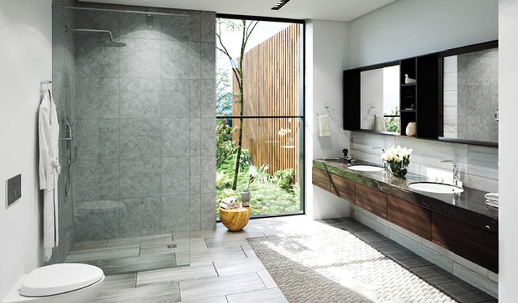 Consejos para usar a tu favor los colores neutros en tu sala de baño