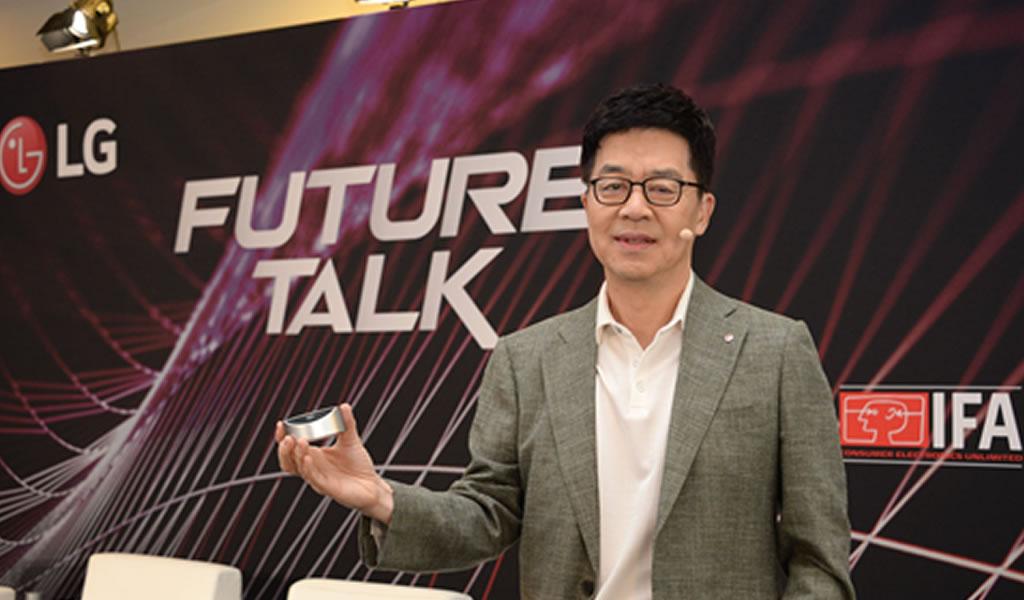 IFA: LG comparte visión de futuro impulsado por la inteligencia artificial