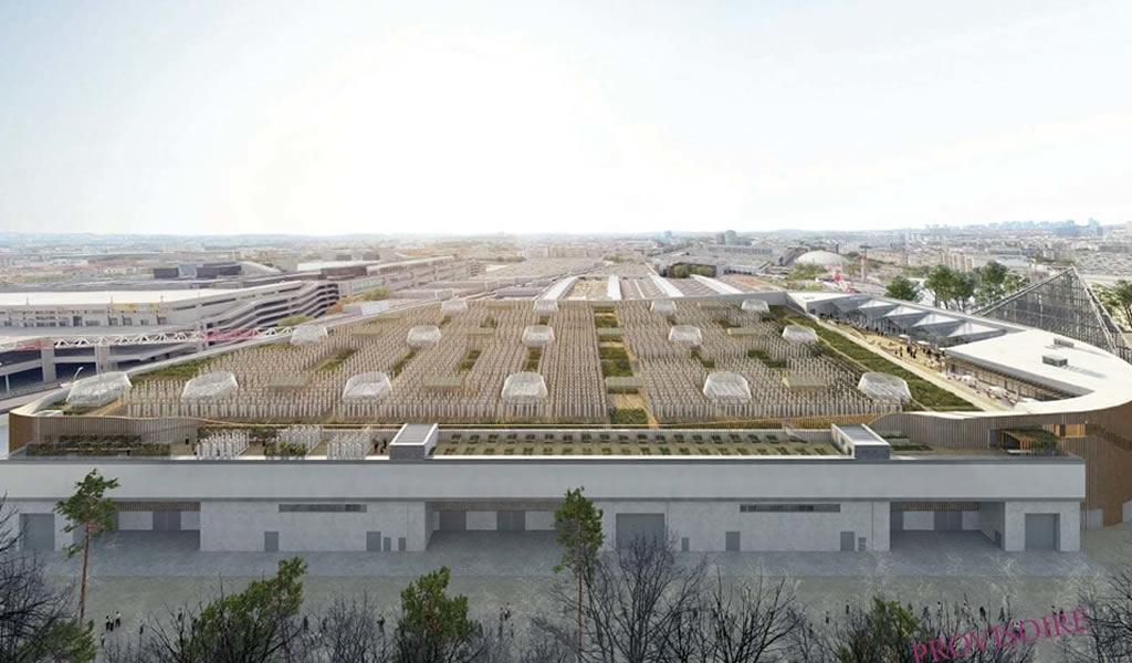 La granja urbana más grande del mundo se inaugura el próximo año en París