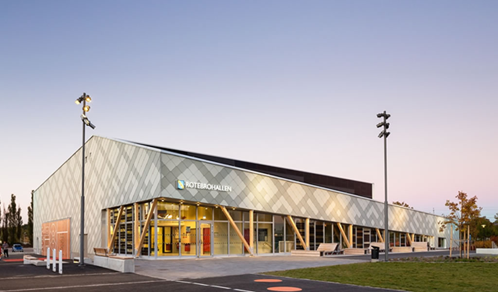 Pabellón deportivo Rotebro / White Arkitekter