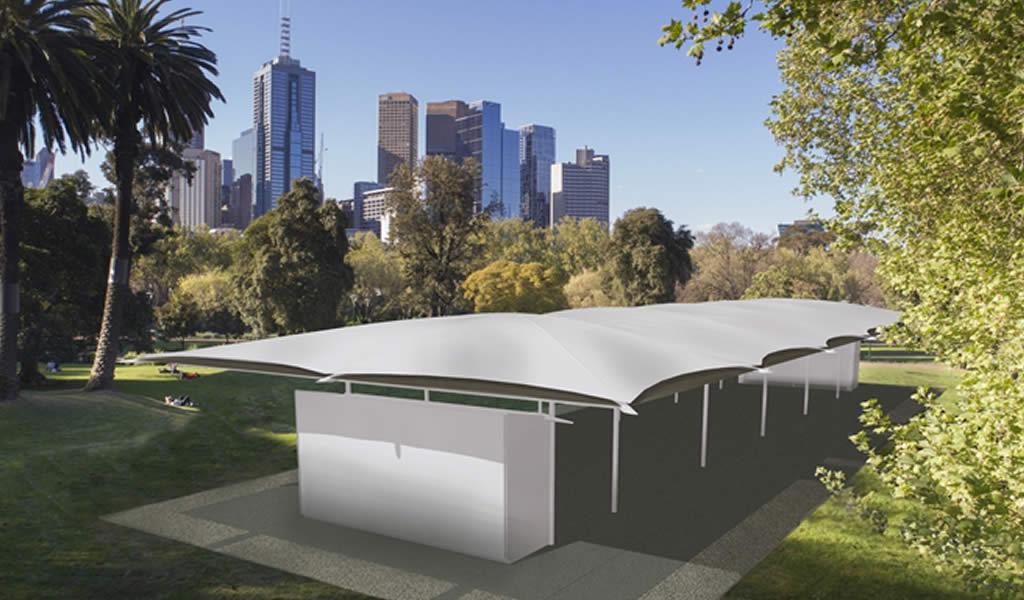 El arquitecto australiano Glenn Murcutt revela su diseño para el MPavilion 2019