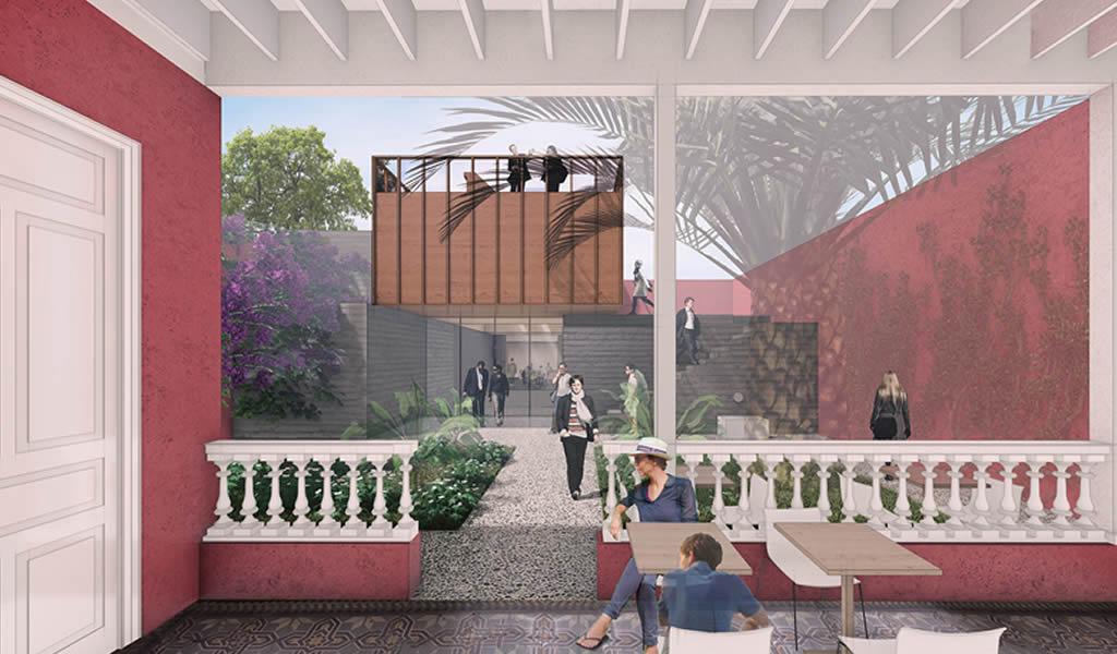 Proyecto de ampliación para casa patrimonial en Lima transforma el patio trasero en el centro del edificio