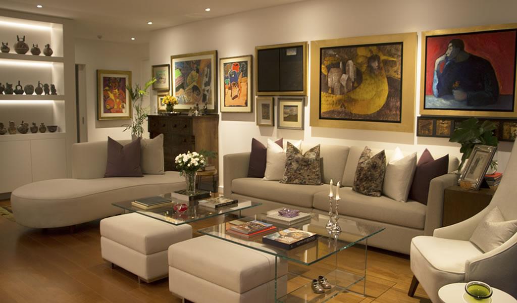 Departamento elegante y cómodo/ Diseñadora Diana Choy