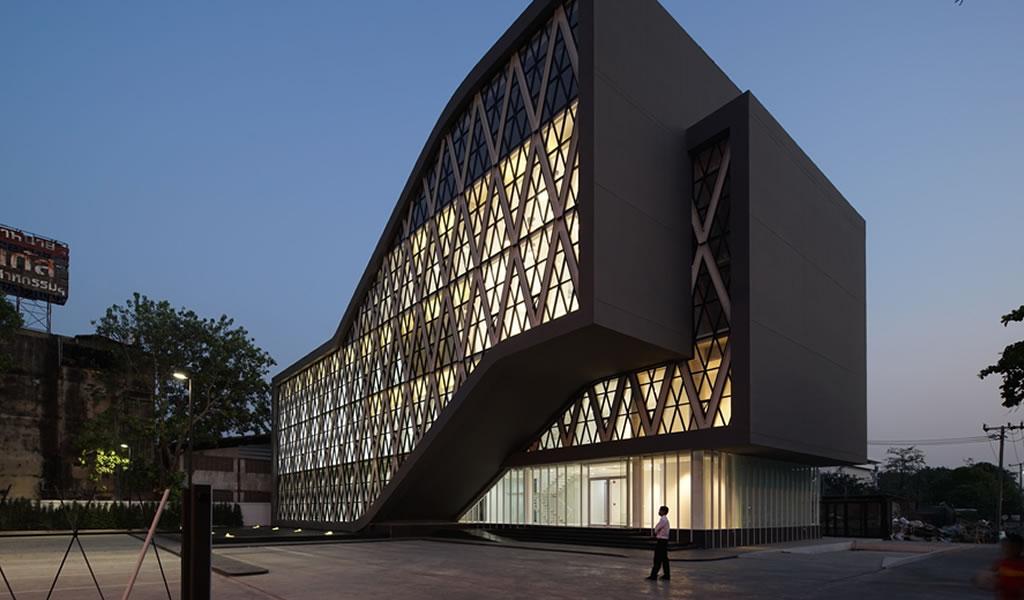 Edificios con piel de caucho: arquitectura maleable y sin costuras