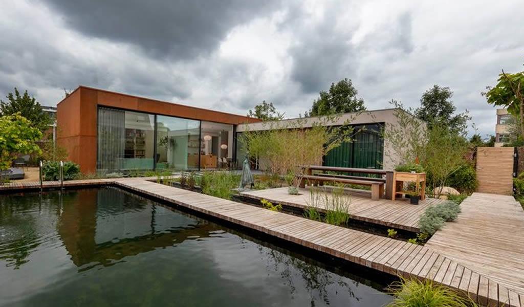Un bungaló que genera su propia energía