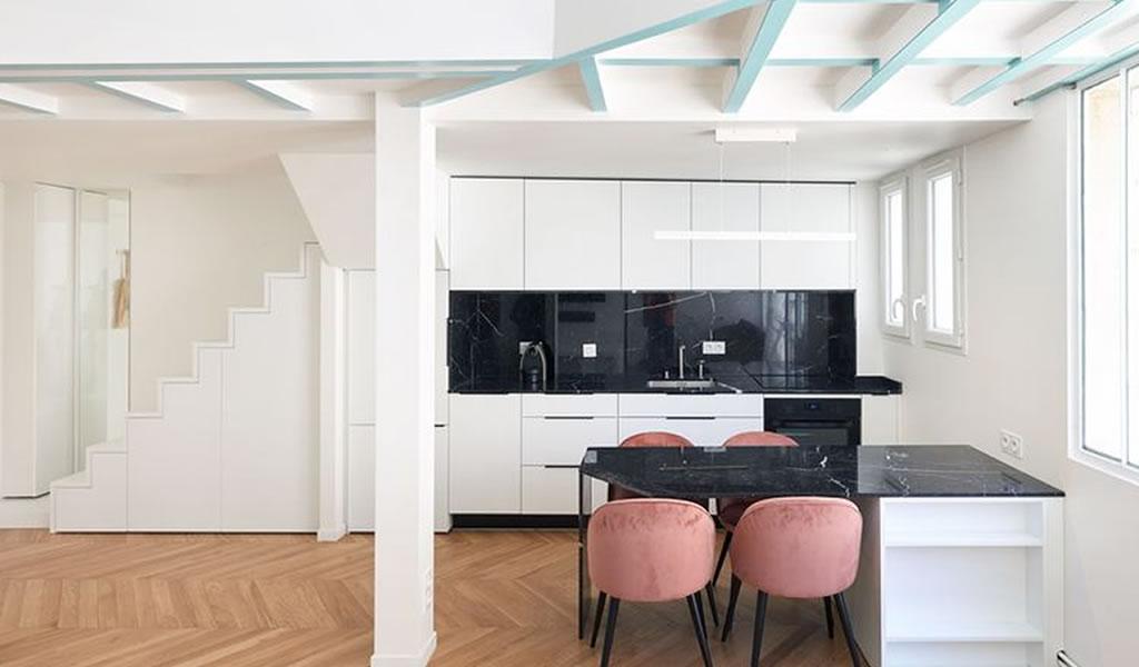 Remodelación de un apartamento de 1930