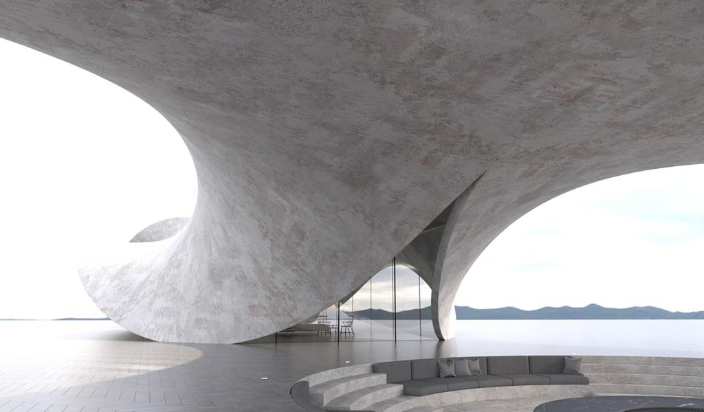 Antony Gibbon crea serie de proyectos escultóricos con concreto