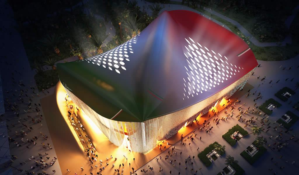 Italia revela el diseño de su pabellón basado en el reciclaje para la Expo Dubai 2020
