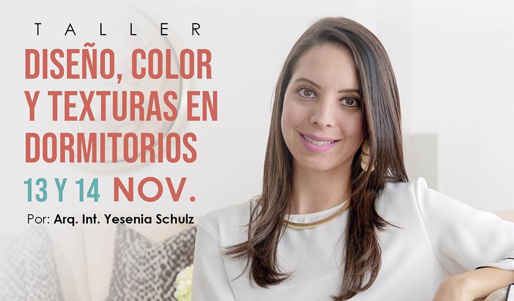 """Dossier brindará un taller sobre """"Diseño de dormitorios"""" junto a Yesenia Schulz"""