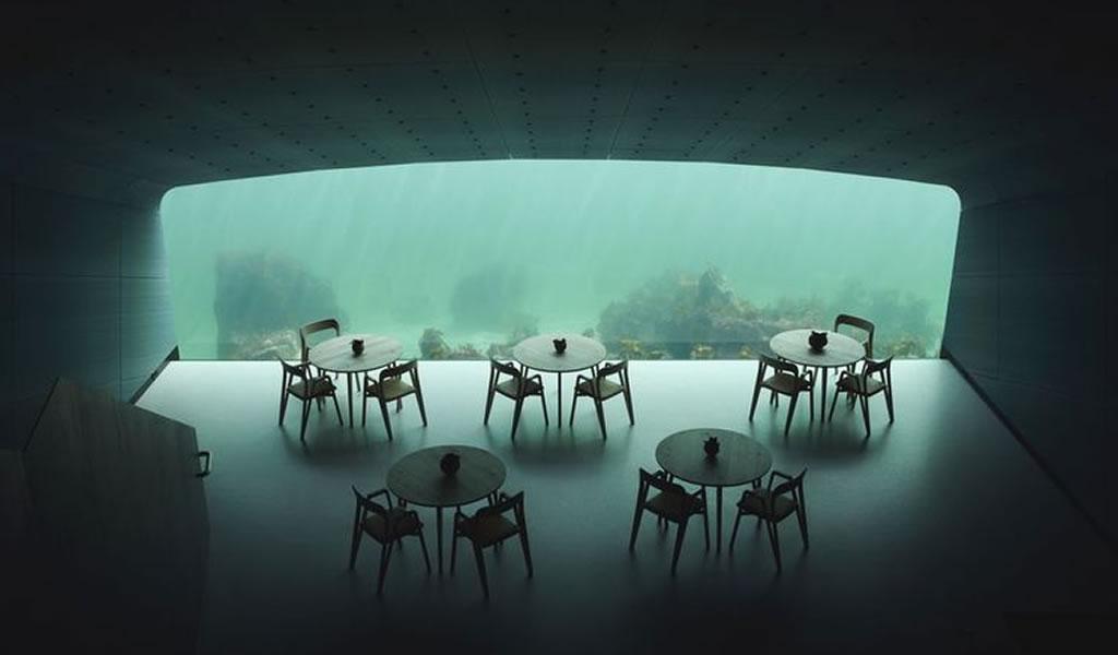 El primer restaurante subacuático de Europa