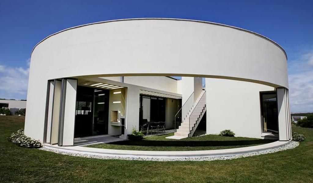 Una casa diseñada por un premio Pritzker