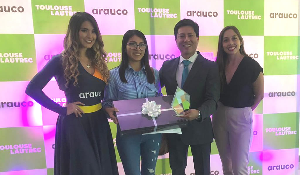 """Arauco y Toulouse presentó la premiación del  2do concurso de """"Diseño de mobiliario"""""""