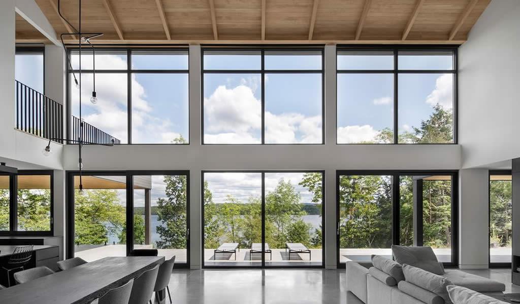 Una casa abierta a la naturaleza