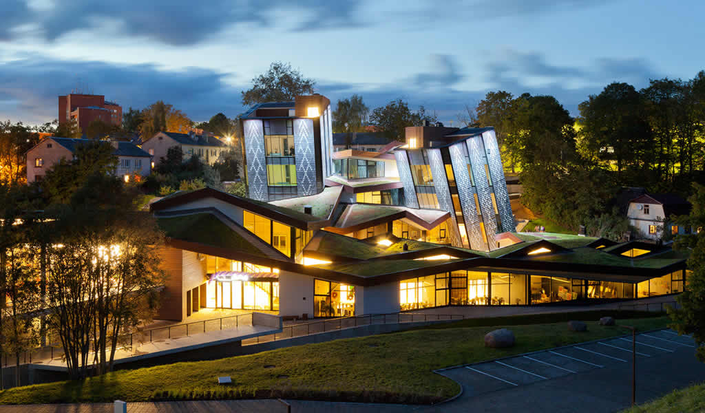 Zeimuls, Centro de servicio creativos de Latvia oriental / SAALS Architecture