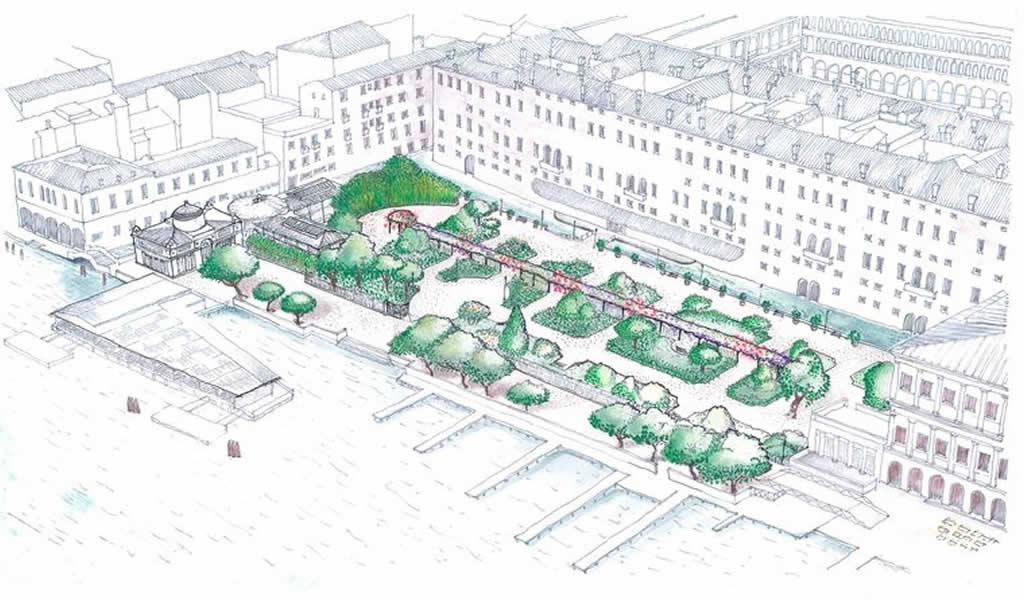 Reabren los reales jardines de Venecia