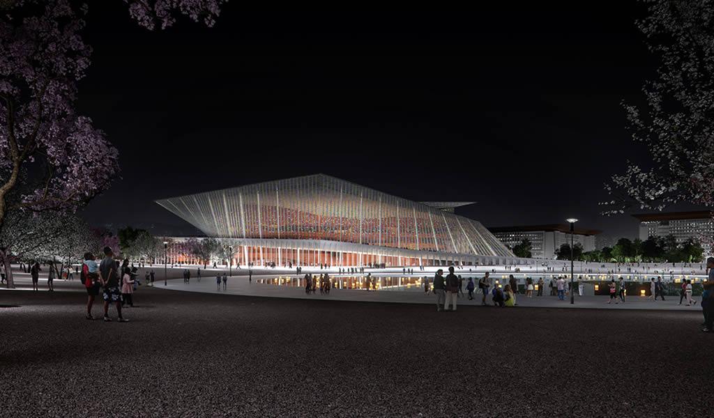 Snøhetta gana concurso para diseñar el nuevo teatro Xingtai en China