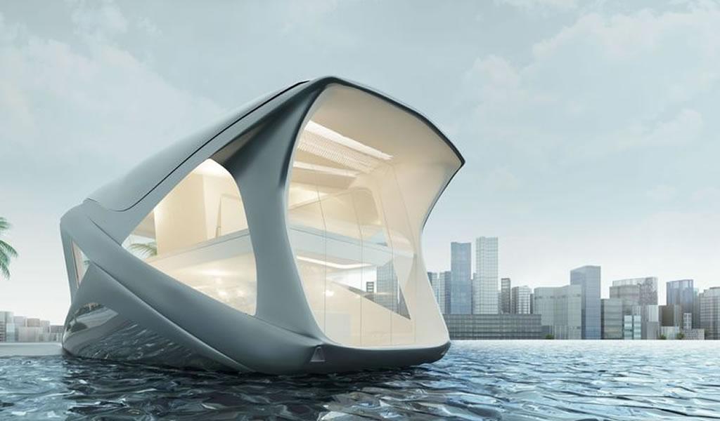 Casas flotantes del futuro