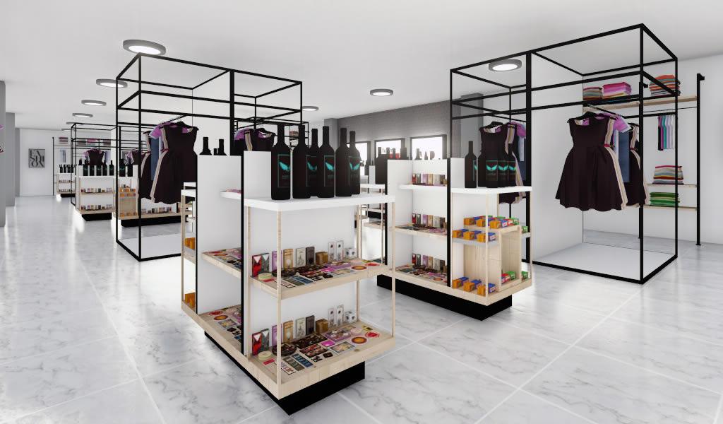Diseño interior comercial: Momento de lo versátil