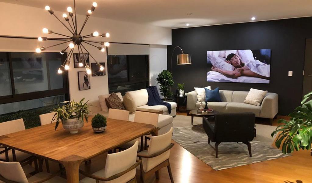Departamento para un soltero / Diseñadora de interiores Carla Canepa
