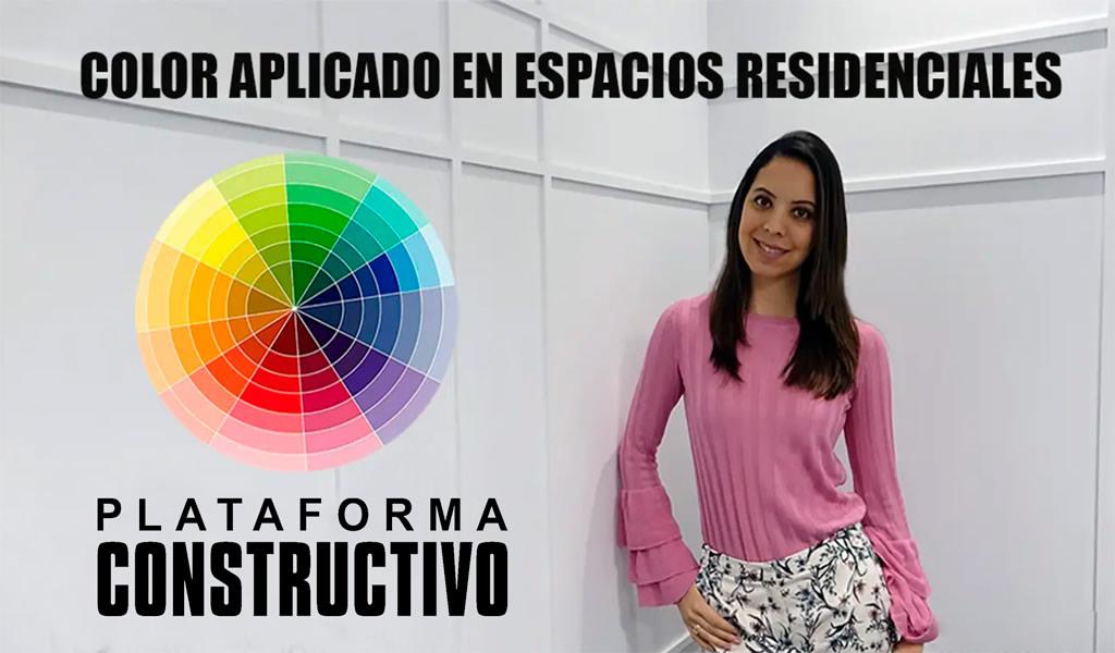 Color aplicado en espacios residenciales