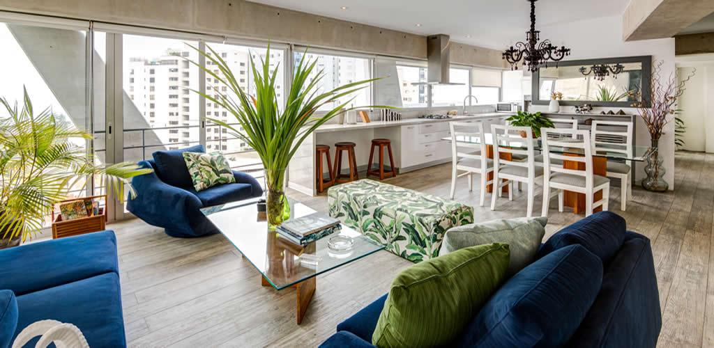 Concreto en interiores elaborado por Diego Olivera