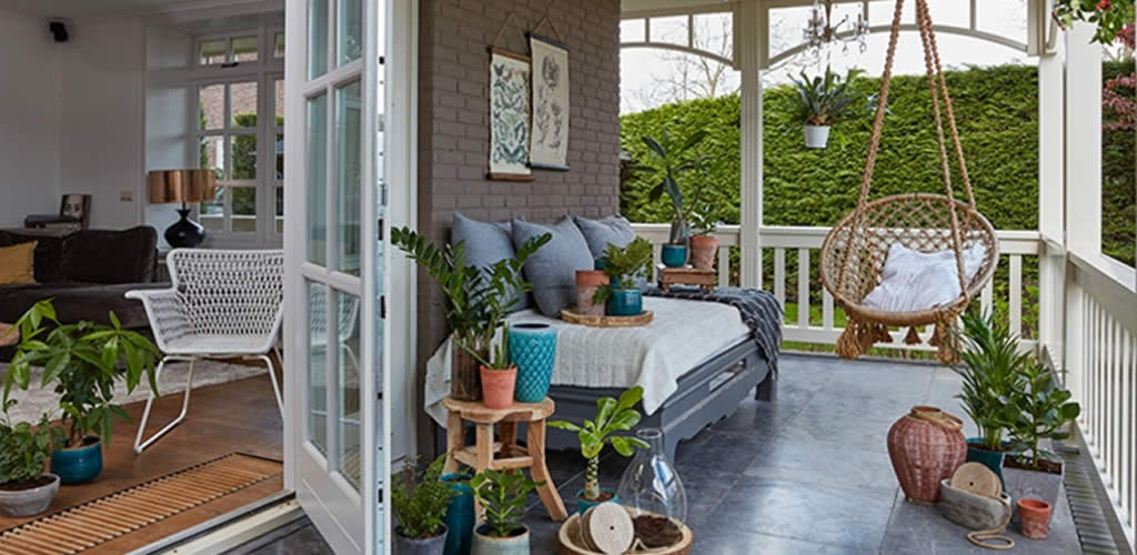 Decoración de balcones por  la arquitecta Brunny Alzamora