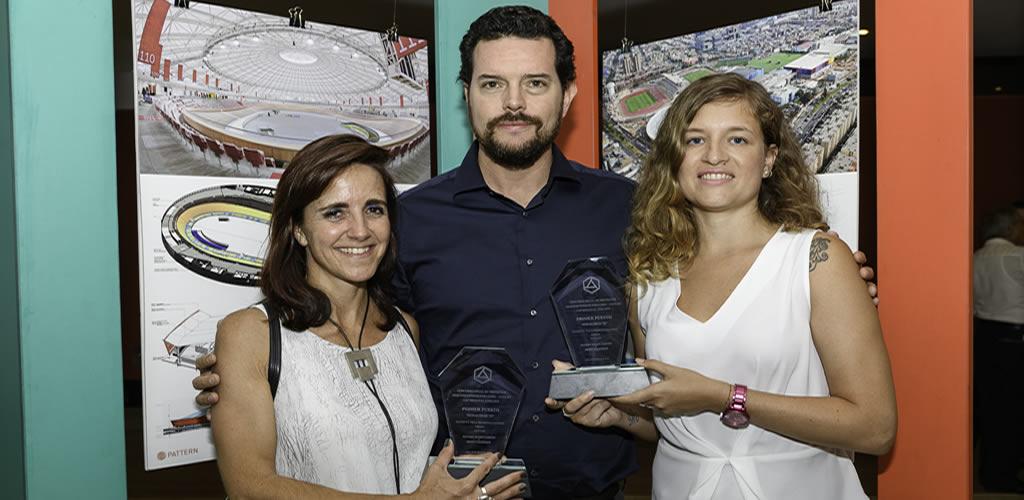 Pattern Design y Dessin Technisch ganan premio gracias a su proyecto Villa Deportiva Nacional para los Juegos Panamericanos Lima 2019