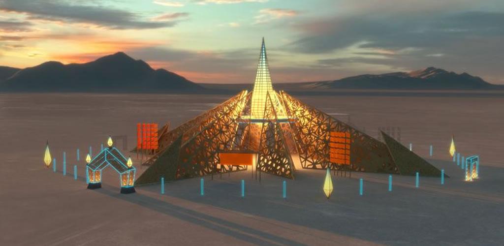 Burning Man 2020: Así será el templo del diseño