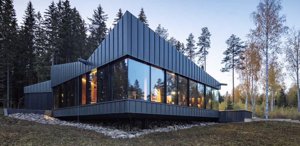 Arquitectura minimalista y moderna