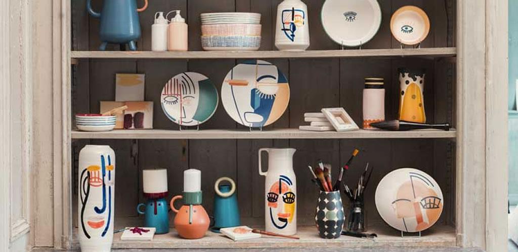 Arquiproductos: La cerámica es la nueva estrella 'deco' de la casa actual