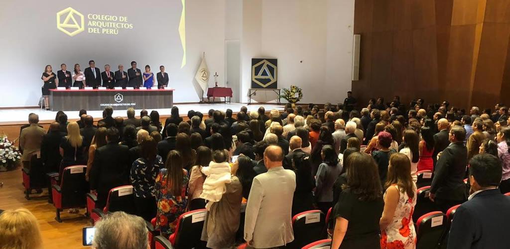 Colegio de Arquitectos del Perú tiene nuevo Decano Nacional