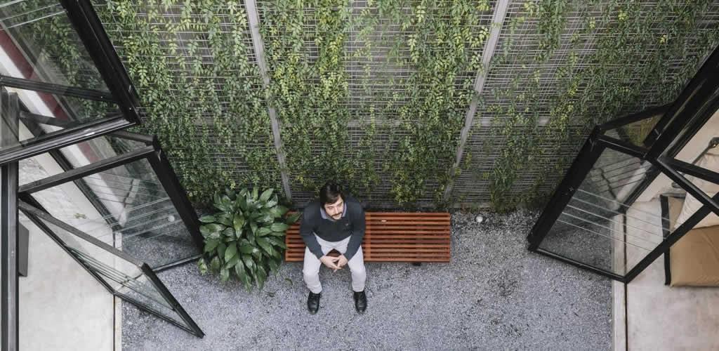 Los innovadores jardines verticales