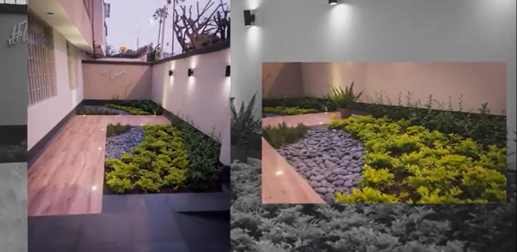 Terraza en Miraflores por el Arquitecto Fernando Alvarez
