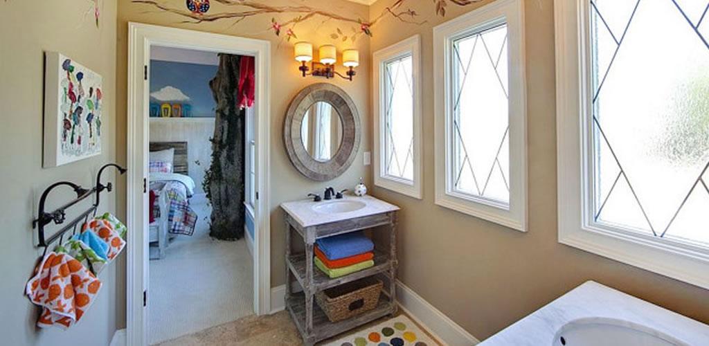 Tips de decoración de baños para niños