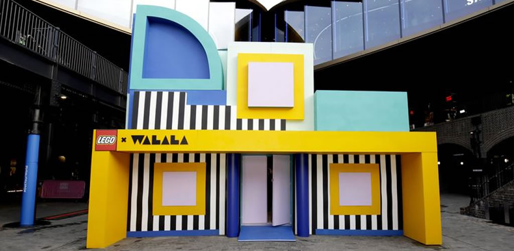 Lego presenta su nuevo producto, Dots, con una casa hecha con 2 millones de piezas