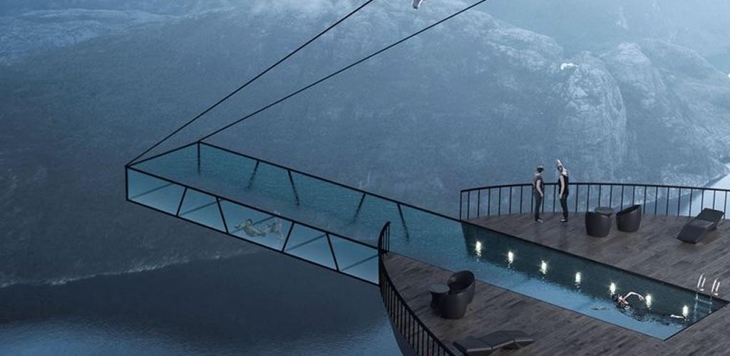 Nadar en esta piscina será como flotar